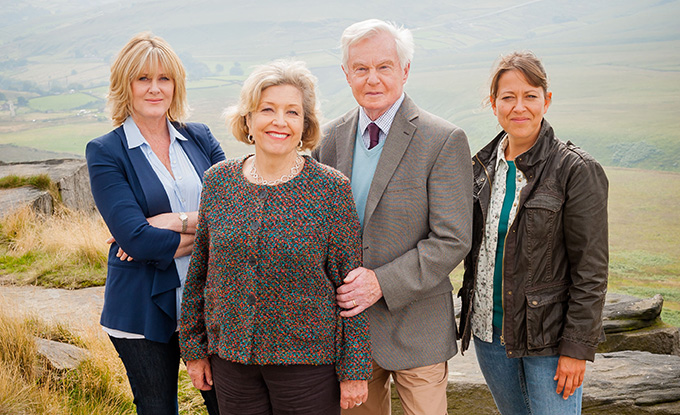Caroline (SARAH LANCASHIRE), Celia (ANNE REID), Alan (DEREK JACOBI), Gillian (NICOLA WALKER)
