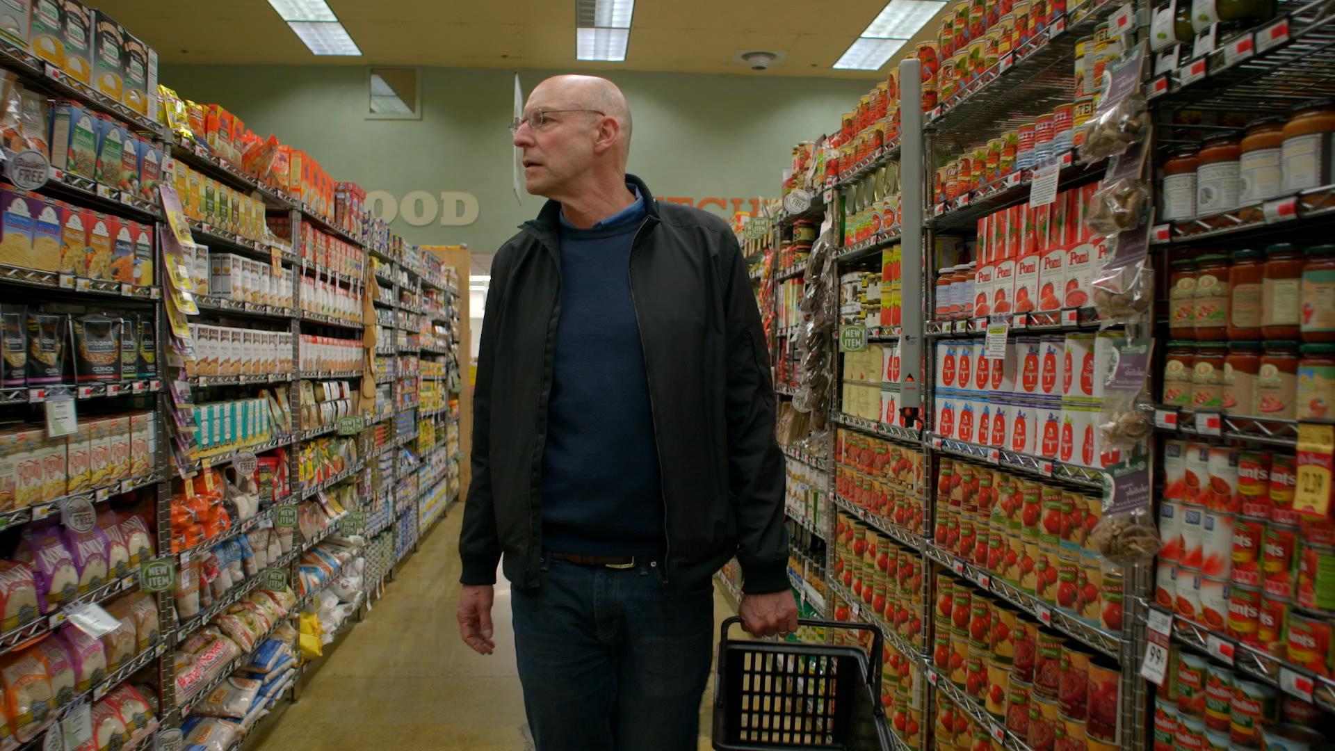 Michael Pollan in the film In Defense of Food.