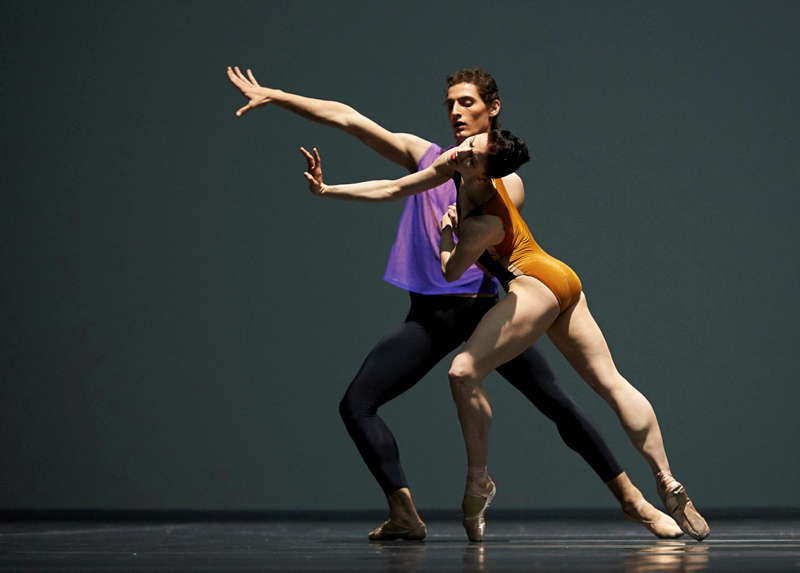 Sofiane Sylve and Carlo Di Lanno in Forsythe's Pas/Parts 2016