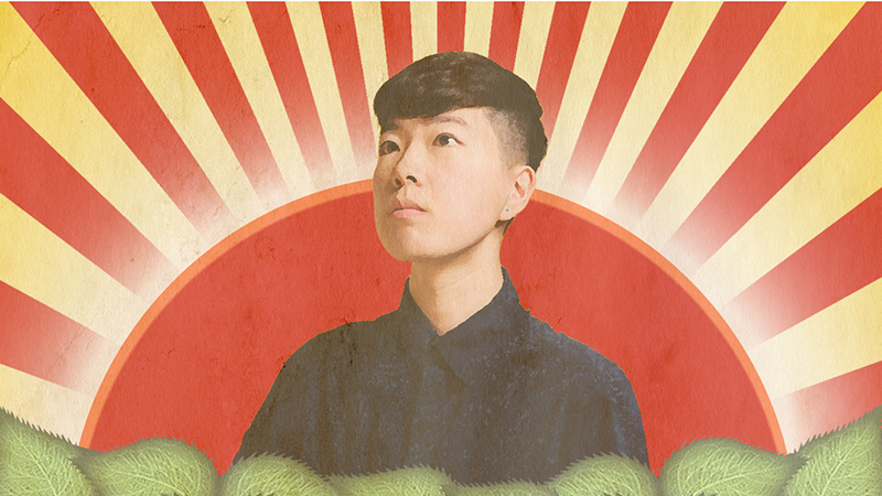 San Francisco-based stand-up comedian, writer, and actor, Irene Tu.
