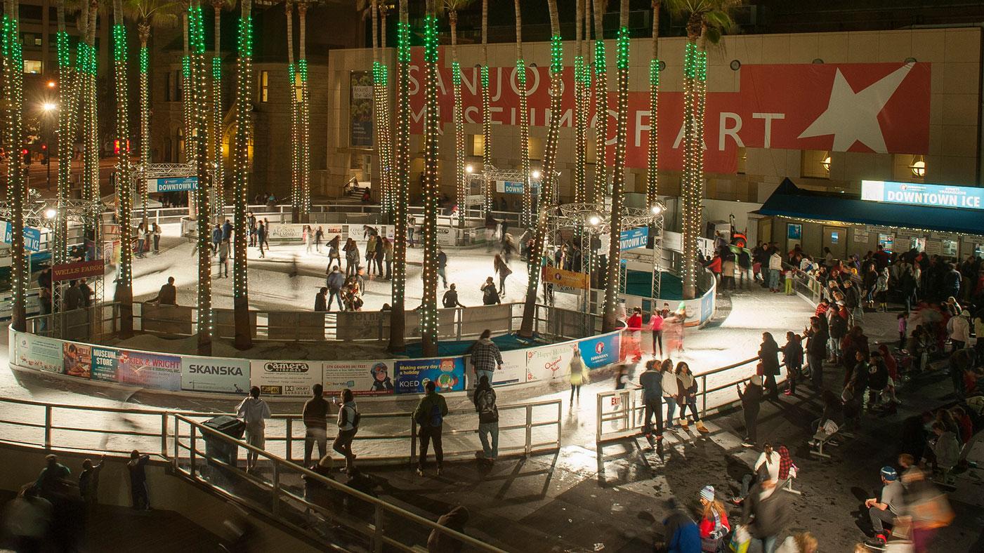 Downtown San Jose Ice Rink