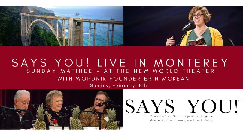 Says You! Monterey