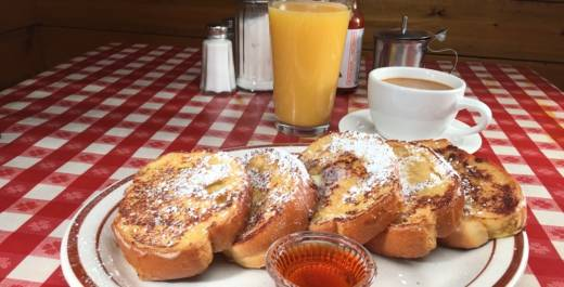 Orange Spice French Toast from Kate's Kitchen, San Francisco