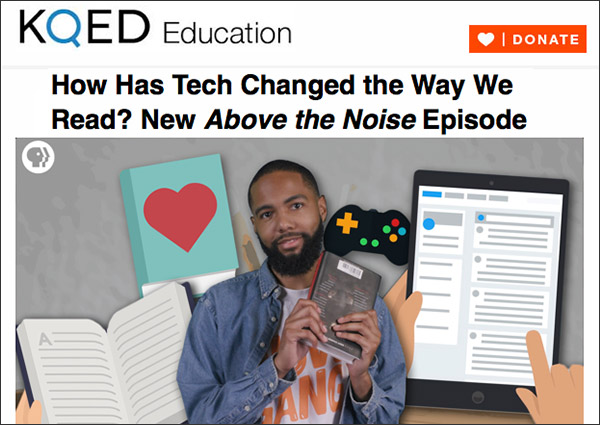 KQED Education Newsletter