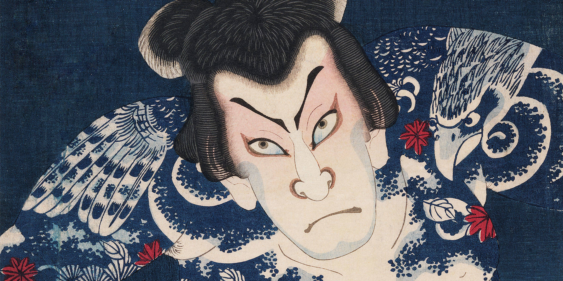 'Tattoos in Japanese Prints' at the Asian Art Museum is on view through August 18.  Courtesy Asian Art Museum