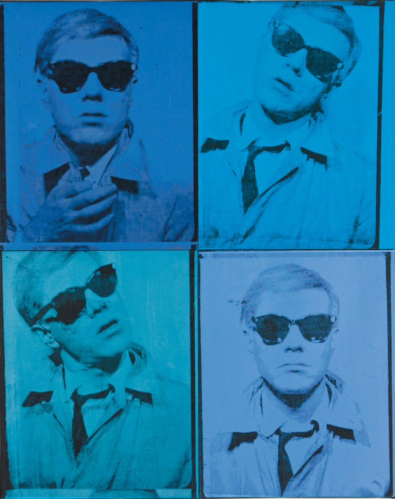 Andy Warhol, 'Self-Portrait,' 1963–64. (© The Andy Warhol Foundation for the Visual Arts, Inc. / Artists Rights Society (ARS) New York)