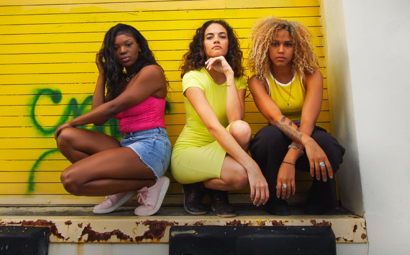 A still of three dancers from If Cities Could Dance Miami episode.