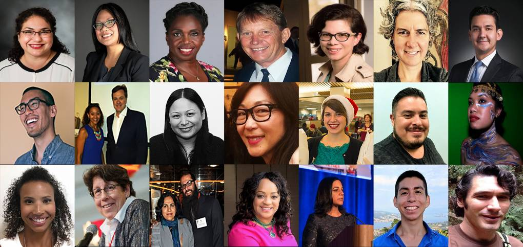 Images of KQED's Community Advisory Panel members
