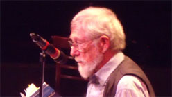 Gary Snyder and Lawrence Ferlinghetti at Club Fugazi-