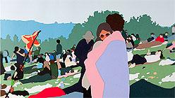 Kota Ezawa & Taha Belal at Haines Gallery-Woodstock, Kota Ezawa, 2012.
