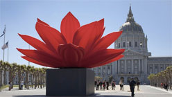 Combining Old and New to Illuminate the 'Phantoms of Asia'-Choi Jeong Hwa, Breathing Flower, 2011.