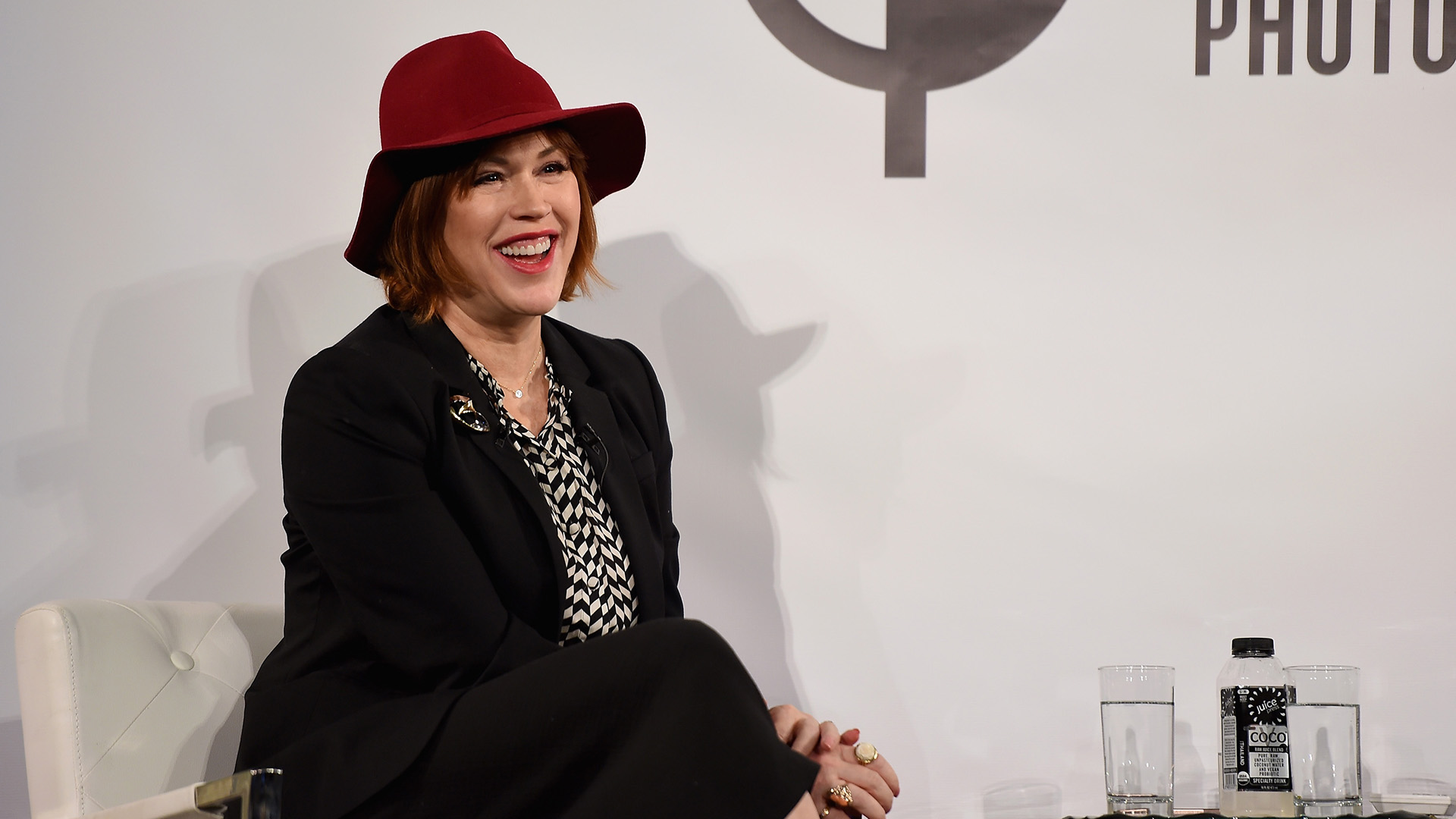 Listen to Molly Ringwald read an excerpt from <i>When It Happens to You</i>