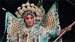 Innovative Opera Takes Center Stage at S.F. World Music Festival-Chinese Peking Opera Singer Zi Rui performing Female Generals of the Yang Family; Courtesy China National Peking Opera Company.