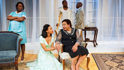 African-American 'Cat on a Hot Tin Roof' Makes it Click-