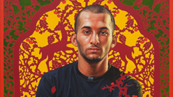 Background Considerations: Kehinde Wiley at Contemporary Jewish Museum-Kehinde Wiley, David Ayelin (The World Stage: Israel), 2011. Courtesy of the artist and Roberts & Tilton.