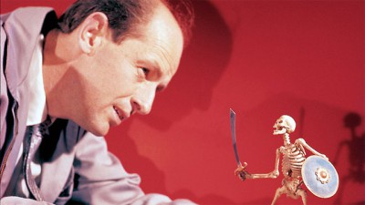 Midsummer Night's Dreams: 5 to Watch-Ray Harryhausen working on The 7th Voyage of Sinbad