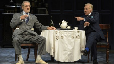 Great Performances Populate Berkeley Rep's 'No Man's Land'-Ian McKellen in No Man's Land at Berkeley Rep.