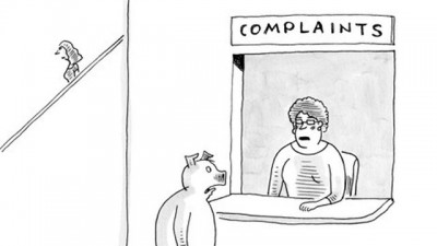 Why The New Yorker's Caption Contest Is So Inconsistent-The infamous Seinfeld New Yorker cartoon.