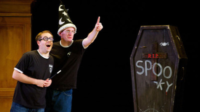 'Potted Potter' Whizzes Through the Wizard World-Potted Potter creators Jefferson Turner and Daniel Clarkson