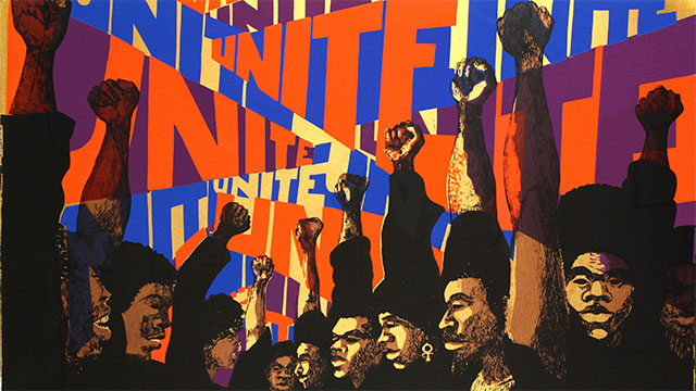 Unite, Barbara Jones-Hogu, Unite. Courtesy of Kenkeleba Gallery