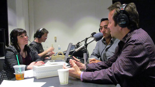 Christian Tumalan and Steffen Kuehn talk with Forum host Rachael Myrow