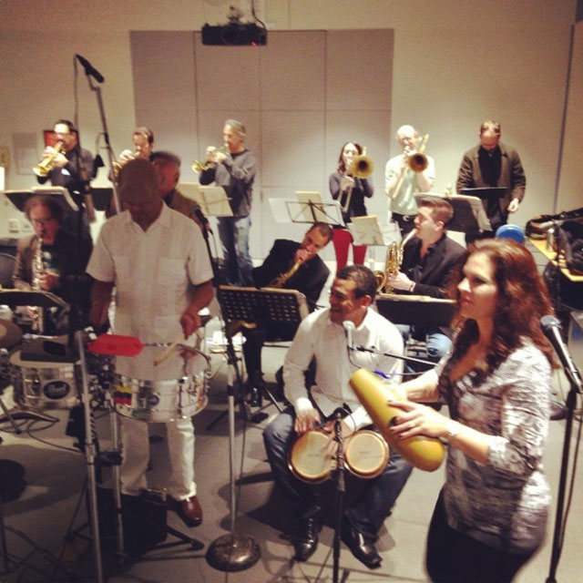 Pacific Mambo Orchestra performs on KQED Forum.
