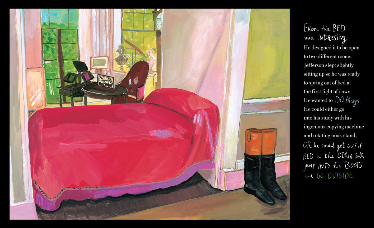 Jefferson's bed by Maira Kalman