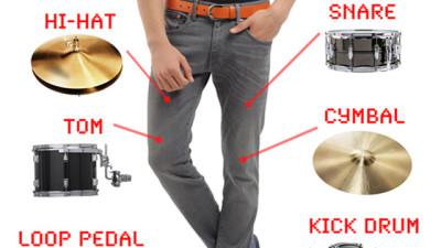 drum pants