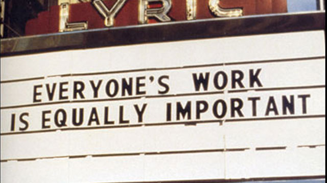 Jenny Holzer, Last Picture Show Truisms, 1993;