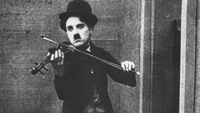 Charlie Chaplin as the Vagabond