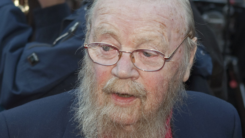Farley Mowat arrives on the Red Carpet outside the Canon Theatre during the 2010 Canada Walk of Fame Tribute in downtown Toronto, Ontario, in October 2010. Mowat died Tuesday at age 92.