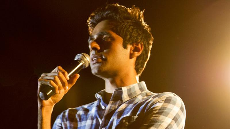 Stand Up Planet host, Hasan Minhaj