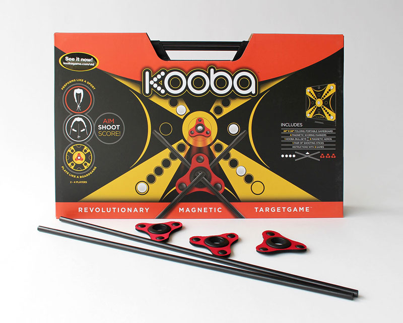 Kooba packaging (recipient of a 2014 American Package Design Award, designed by San Francisco firm Stapley Hildebrand