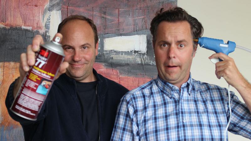 Kooba inventors Scott Shanks and Stephen de Zordo