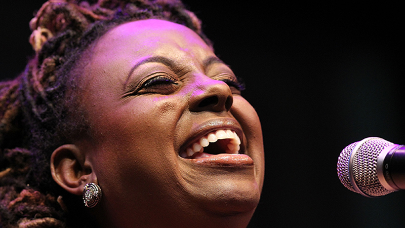 Ledisi performs at the 2013 Thelonious Monk International Jazz Saxophone Competition at The John F. Kennedy Center for Performing Arts on September 16, 2013 in Washington, DC.