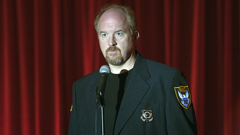 In Louie, Louis C.K. plays a comic who finds comedy in uncomfortable, touchy topics.
