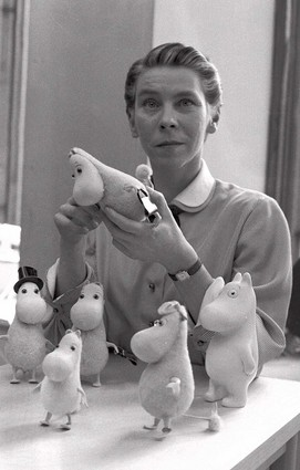 Tove Jansson, 1956; Courtesy Wikimedia Commons