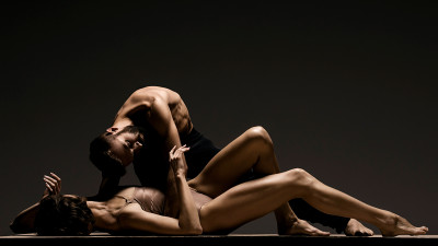 Meredith Webster and David Harvey of Lines Ballet, photo by , photo by RJ Muna