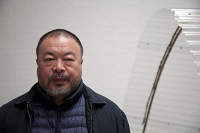 Ai Weiwei in his Beijing Studio