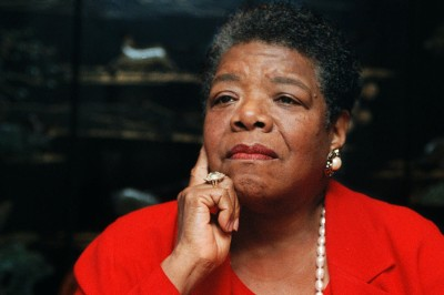 Maya Angelou, poet in residence at Wake Forest University, talks about the poem she wrote for President Clinton's inauguration from her office in Winston-Salem, N.C., on Sept. 16, 1996.