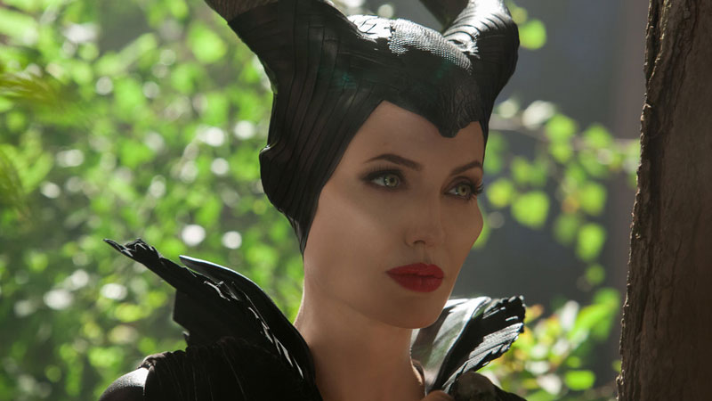 Angela Jolie as Maleficent