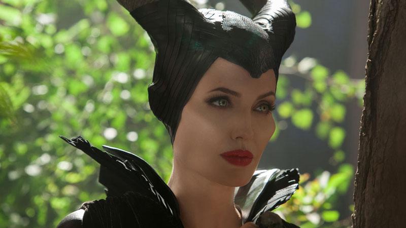 Angela Jolie as Maleficent