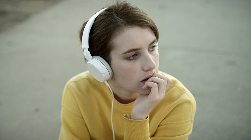 Emma Roberts in James Franco's Palo Alto.