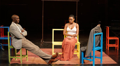 Ivanno Jeremiah and Nonhlanhla Kheswa in The Suit; photo: Pascal Victor/ArtComArt.