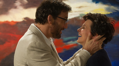 Clive Owen and Juliette Binoche do their best in the watery Words And Pictures.