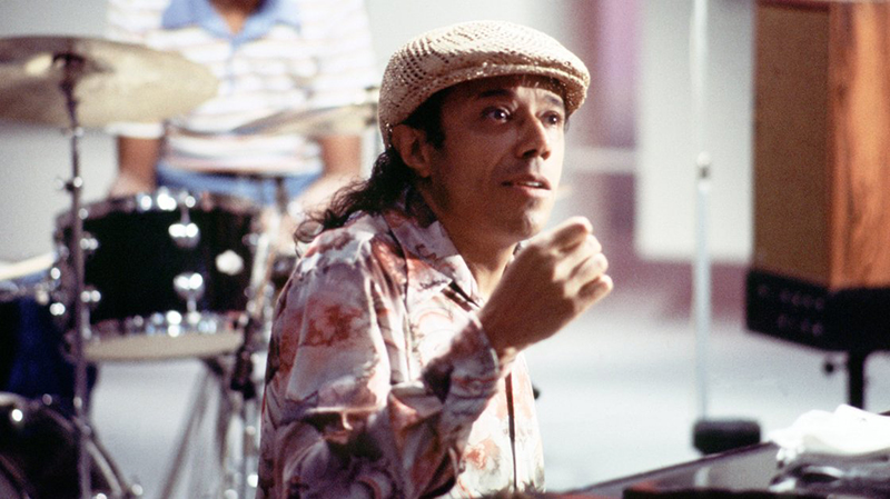 Horace Silver performs for television in Copenhagen, Denmark in 1979.