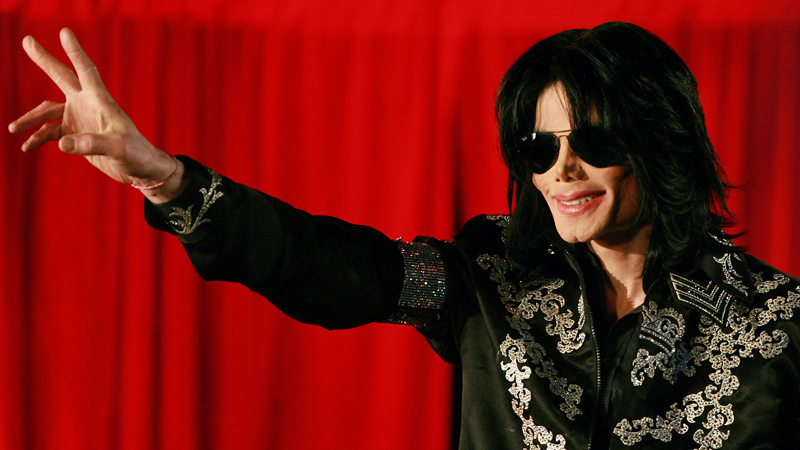 Michael Jackson addresses a press conference at the O2 arena in London in March 2009, just a few months before his shocking death on June 25.
