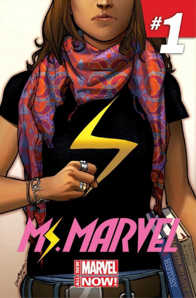 Sara Pichelli & Justin Ponsor, Ms. Marvel Issue #1 Cover Art, 2014; courtesy Marvel