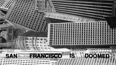 "Cover of ""San Francisco Is Doomed"" compilation on Crime on the Moon"