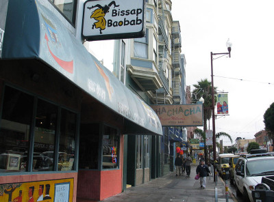 Bissap Baobab's San Francisco location; Photo by Wendy Goodfriend